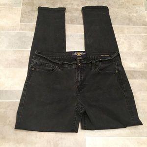 LUCKY BRAND Sofia Skinny Faded Black Denim Jeans